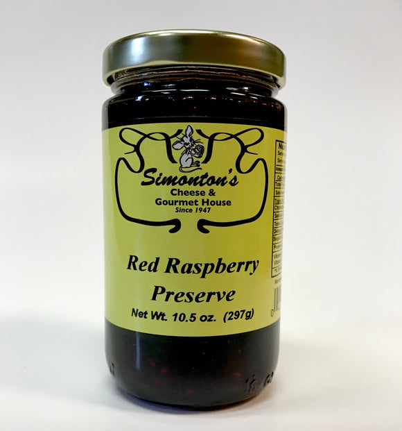 Simonton's Red Raspberry Preserve