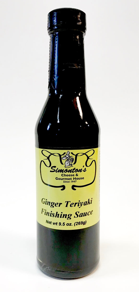 Simonton's Ginger Teriyaki Finishing Sauce