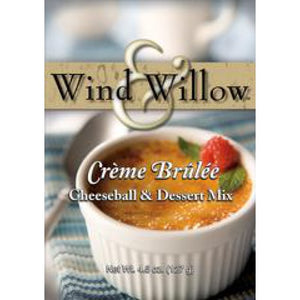 Wind & Willow Crème Brulee Cheeseball & Dessert Mix