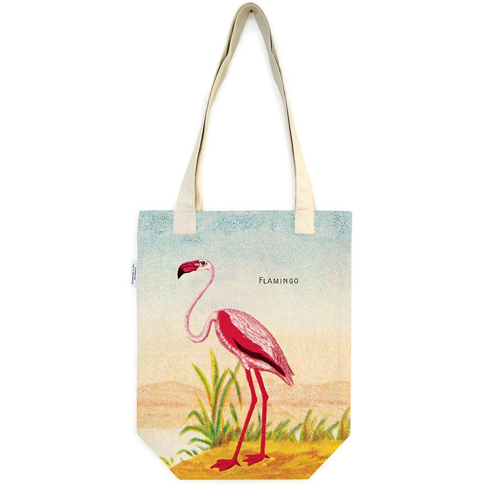 Flamingo Cotton Tote