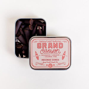 Grand Canyon Incense - Charred Pine Cedarwood + Labdanum