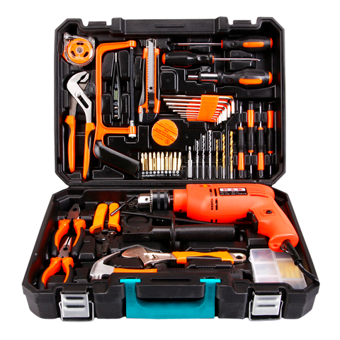 Tools Set With Power Drill