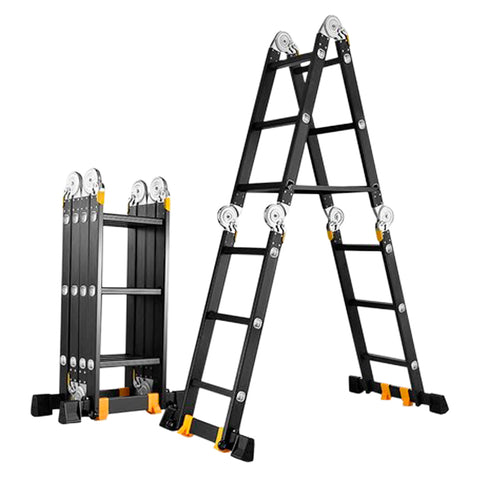 1.8m 3.7m Telescopic Ladder T4