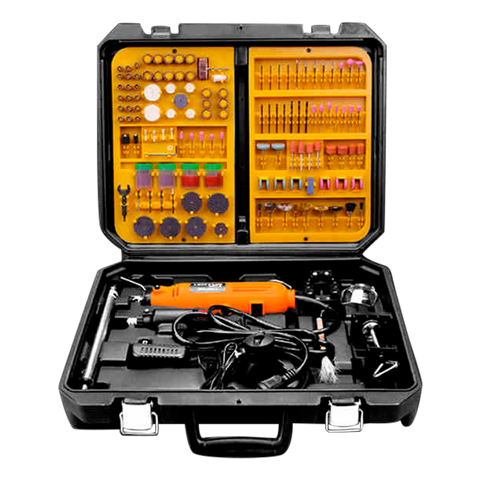 Rotary Tool Master Set 400 Pcs with toolbox