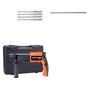 Hammer Impact Wall Drill 600 Watt with Drill Bit Set