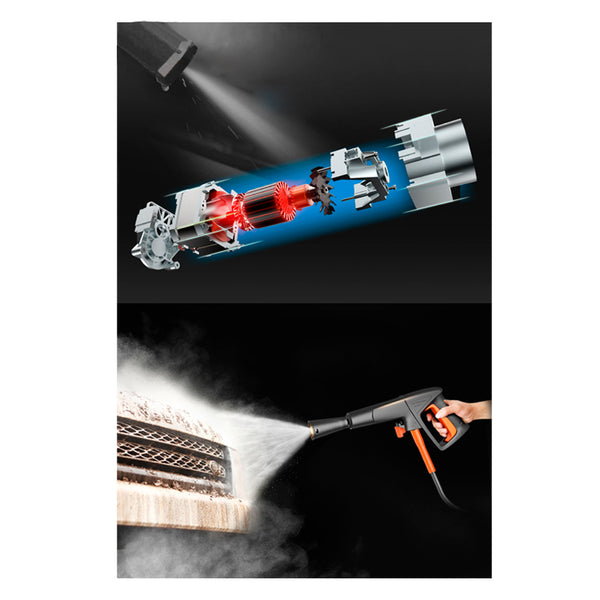 High Pressure Blaster Washer Water Gun 1200W