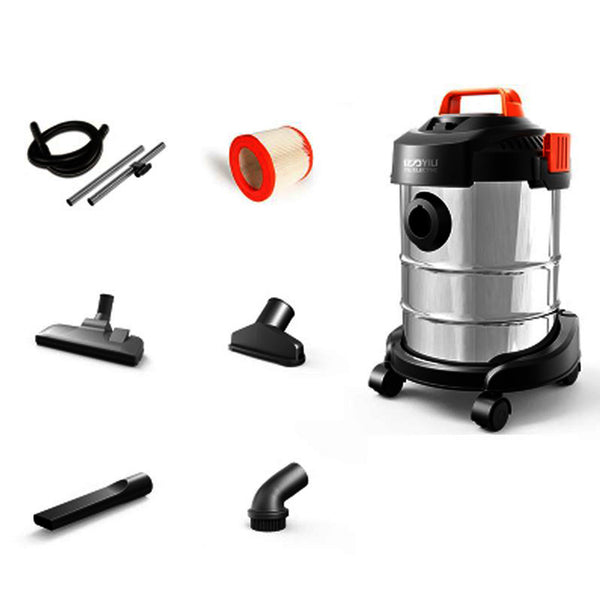 Wet and Dry Vaccum Cleaner 12L 1200W (Metal Barrel)