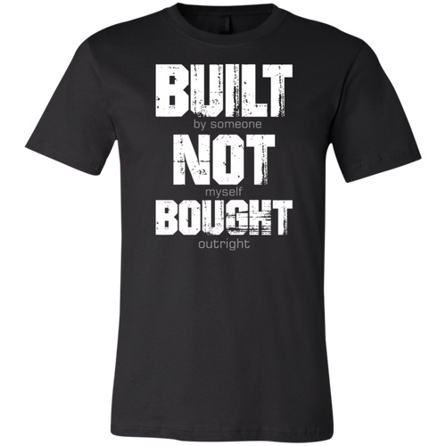 Bought not Built W Meme T-shirt (FREE SHIPPING)
