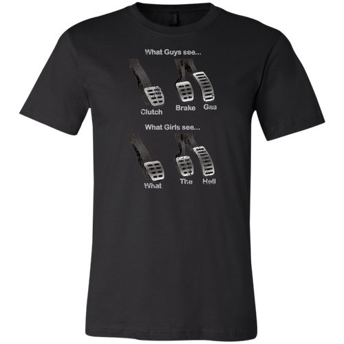 Three Pedal meme T-Shirt (FREE SHIPPING)