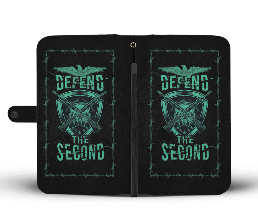 Defend the Second Wallet Phone Case - Get Set Style Metro