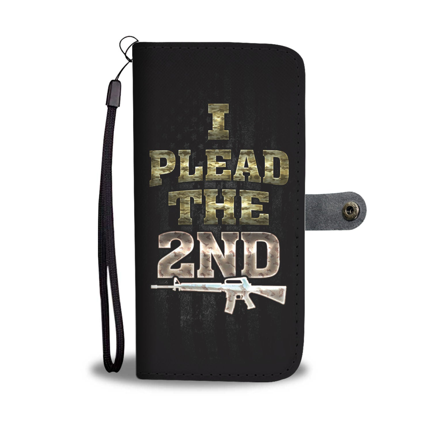 I Plead The 2nd RFID Wallet Phone Case