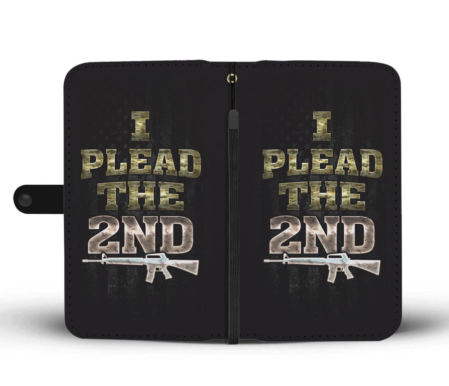 I Plead The 2nd Wallet Phone Case - Get Set Style Metro