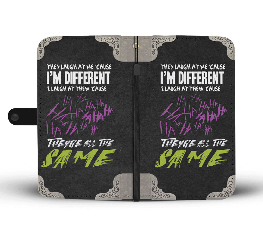 I Am Different They Are The Same Custom Designed Wallet Phone Case - Get Set Style Metro
