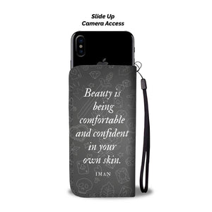 The Girl With Tattoo Custom Design RFID Wallet Phone Case - Get Set Style Metro