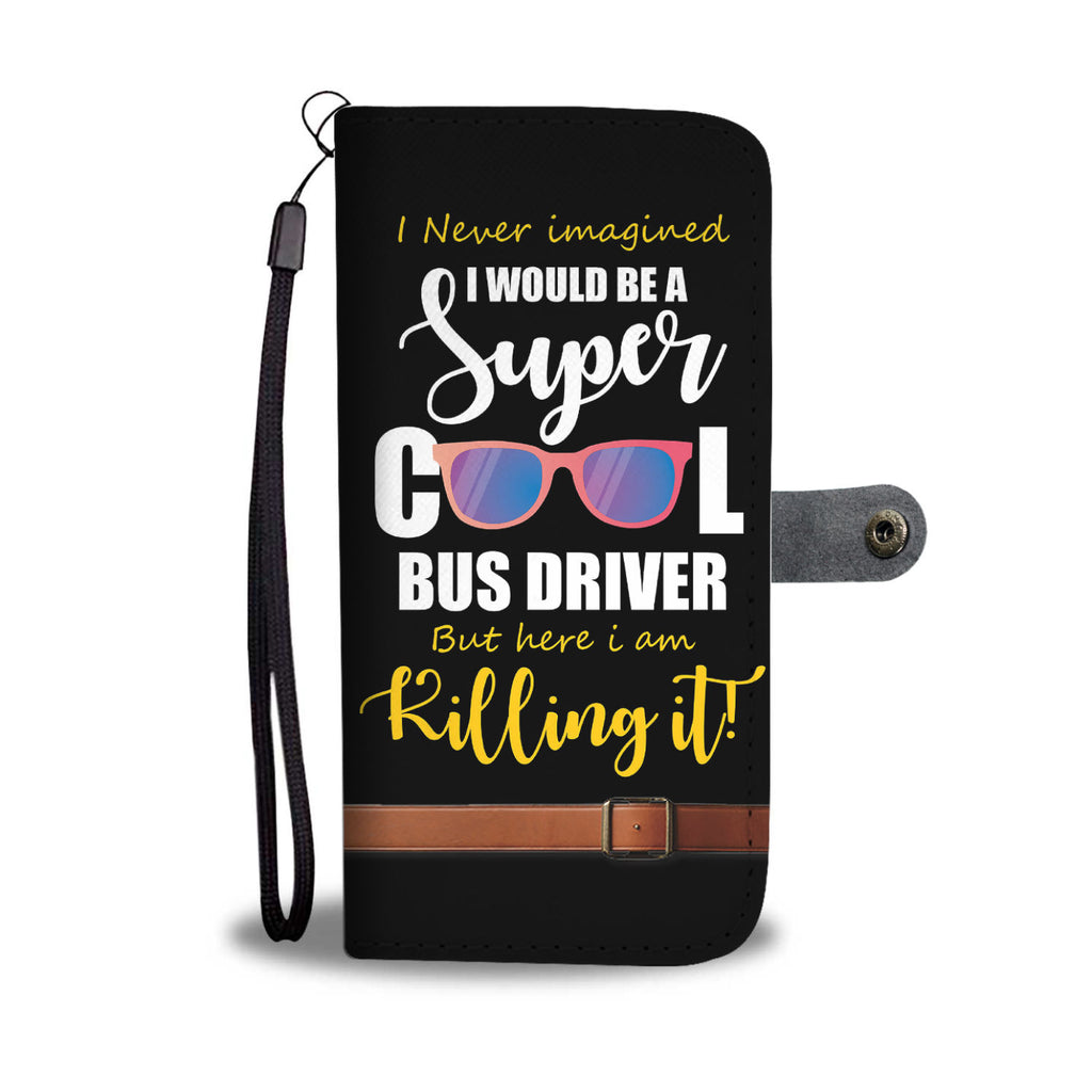 Super Cool Bus Driver RFID Wallet Phone Case - Get Set Style Metro