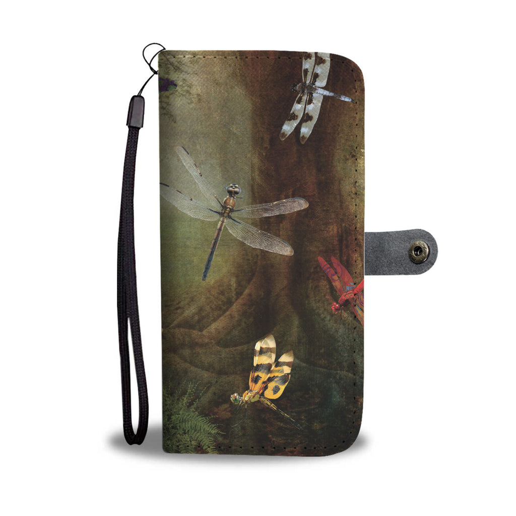Dragonfly Playground RFID Wallet Phone Case - Get Set Style Metro