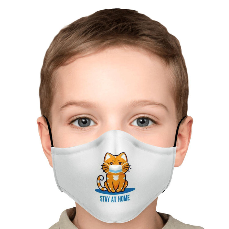 Stay At Home Cat Fashion Face Mask With PM2.5 Carbon Filter - Get Set Style Metro