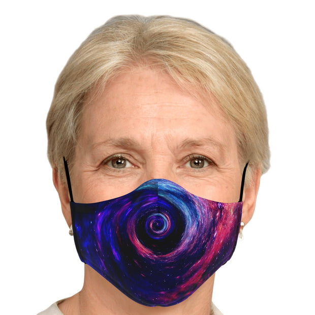 Galaxy Fashion Face Mask With PM2.5 Carbon Filter - Get Set Style Metro