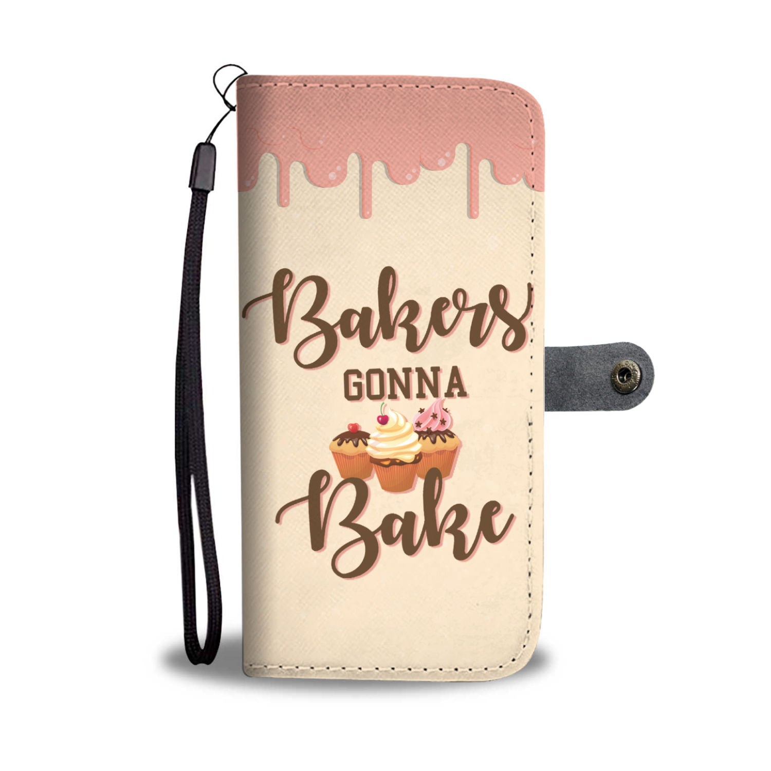 Bakers Gonna Bake RFID Wallet Phone Case