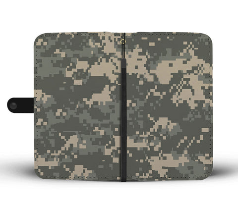 Camouflage Pattern Wallet Phone Case - Get Set Style Metro