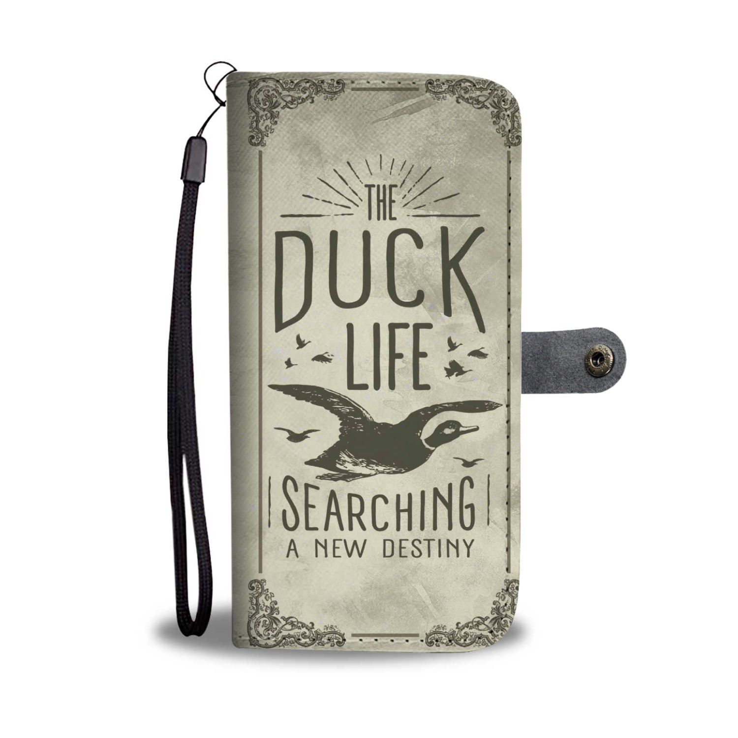 The Duck Life is Searching New Destiny RFID Wallet Phone Case