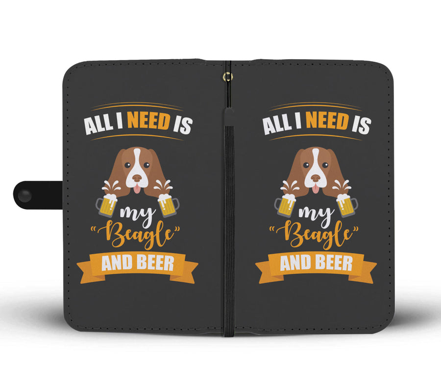 My Beagle And Be3r RFID Wallet Phone Case