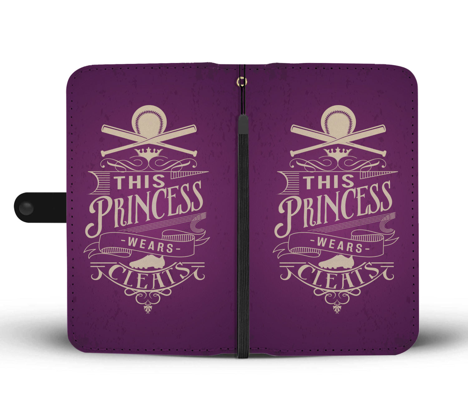 This Princess Wears Cleats Wallet Phone Case - Get Set Style Metro