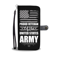 Proud Veteran Of The US Army Wallet Phone Case - Get Set Style Metro