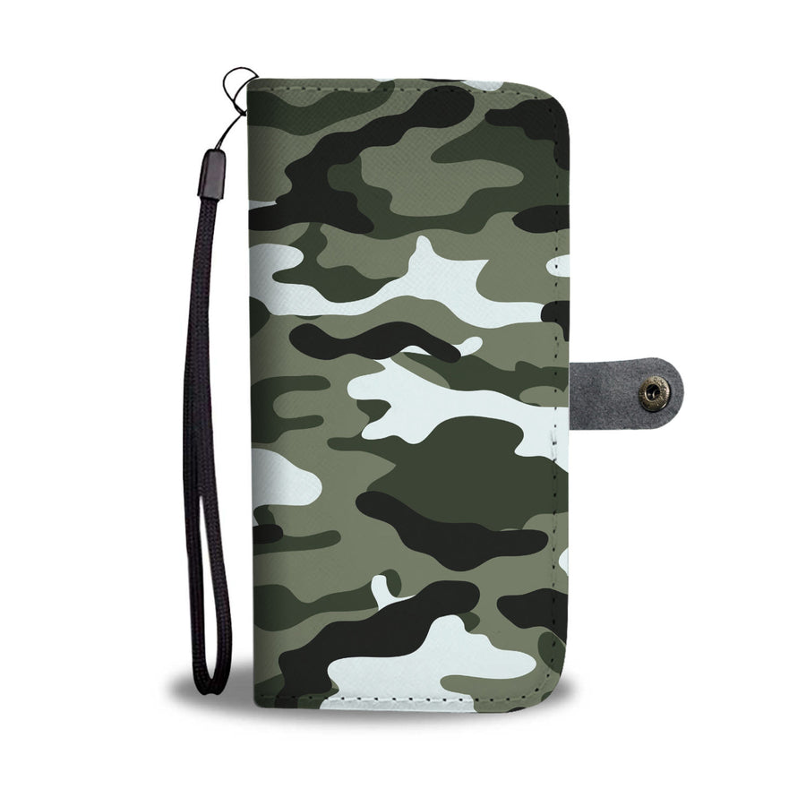 Camouflage Army Pattern 1 Wallet Phone Case - Get Set Style Metro