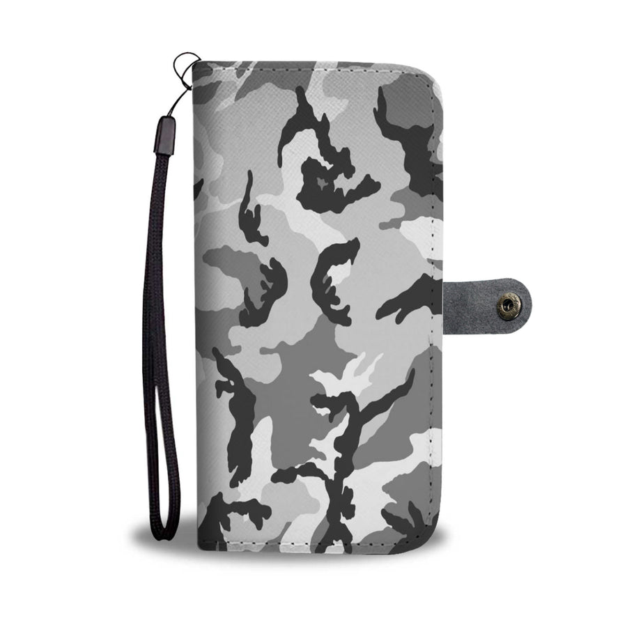 Camouflage Army Pattern 2 Wallet Phone Case - Get Set Style Metro