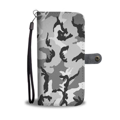 Camouflage Army Pattern 2 RFID Wallet Phone Case