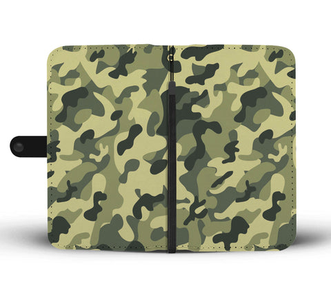 Camouflage Army Pattern 3 Wallet Phone Case - Get Set Style Metro