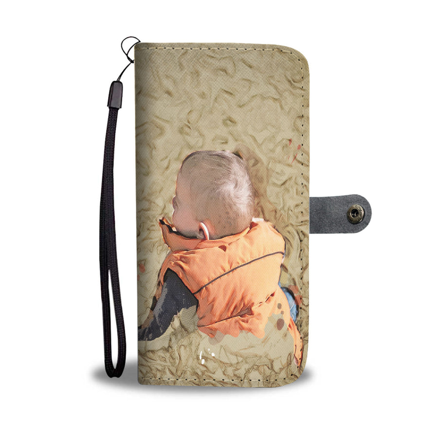 Baby On Fall Wallet Phone Case - Get Set Style Metro