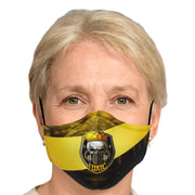 Toxic eSport Logo Fashion Face Mask With PM2.5 Carbon Filter - Get Set Style Metro