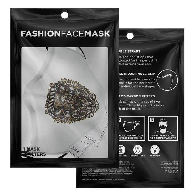 Corona Virus Protection eSport Logo Fashion Face Mask With PM2.5 Carbon Filter - Get Set Style Metro