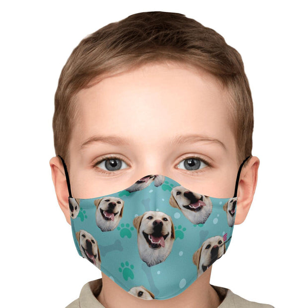 Personalized Image Of Your Beloved Dog Face Mask - Get Set Style Metro