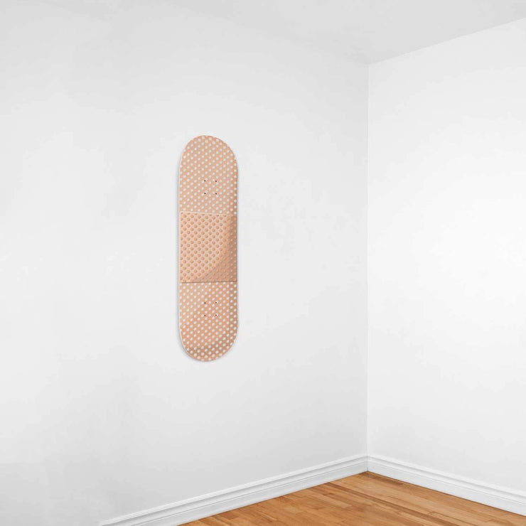 Custom Design Bandaid Skateboard Wall Art - Get Set Style Metro