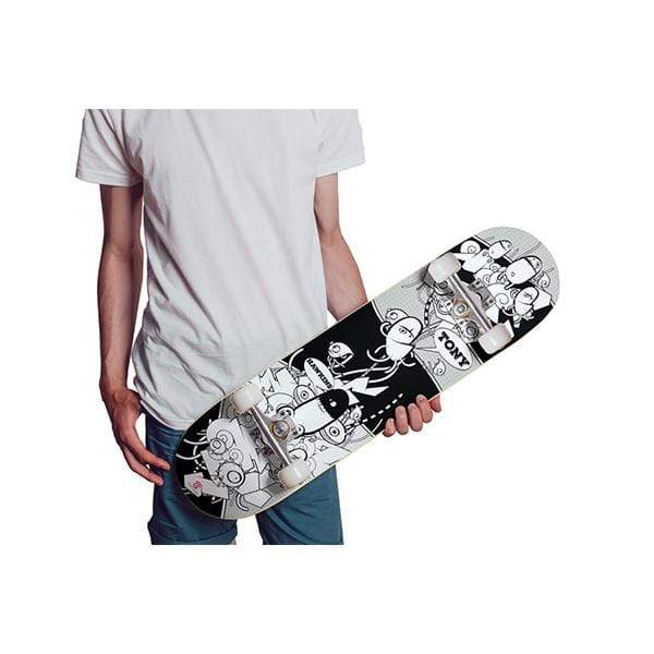 Personalized Graffiti Design Skateboard Wall Art - Get Set Style Metro
