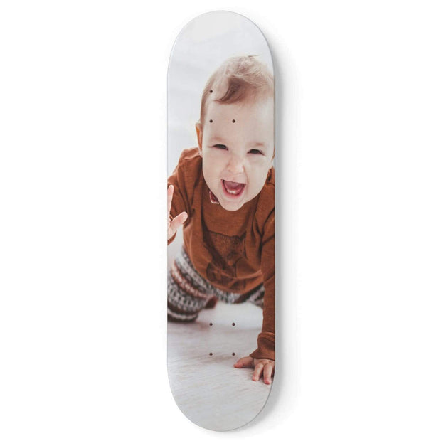 GetSetStyleMetro 1 Skateboard Wall Art With mounts Personalized With Photo Skateboard Deck Wall Art