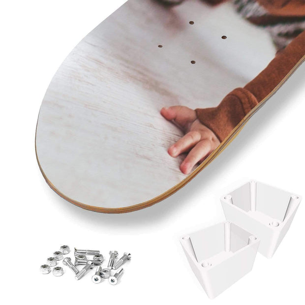 Personalized With Photo Skateboard Deck Wall Art - Get Set Style Metro