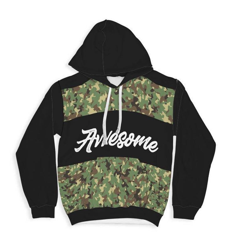 Awesome Camouflage All Over Print Hoodie - Get Set Style Metro