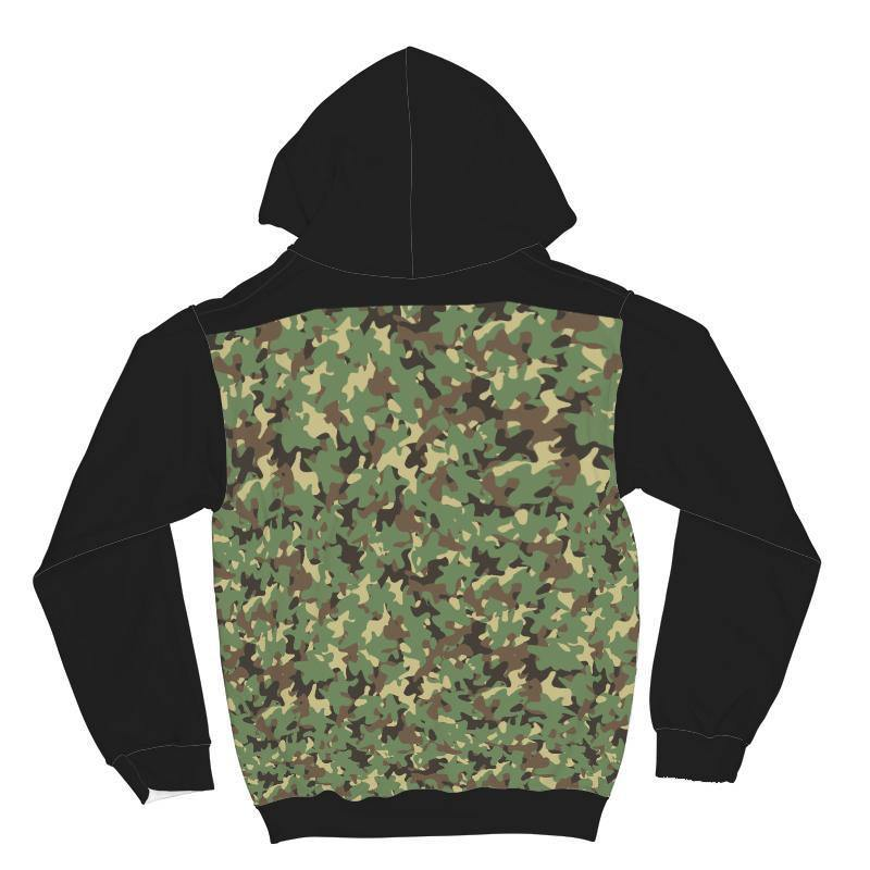 GetSetStyleMetro AOP Hoodie XXS Awesome Camouflage All Over Print Hoodie