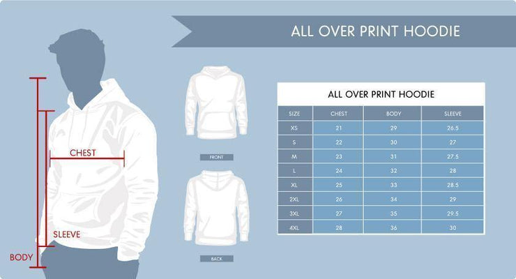 Awesome Electronic Design All Over Print Hoodie - Get Set Style Metro