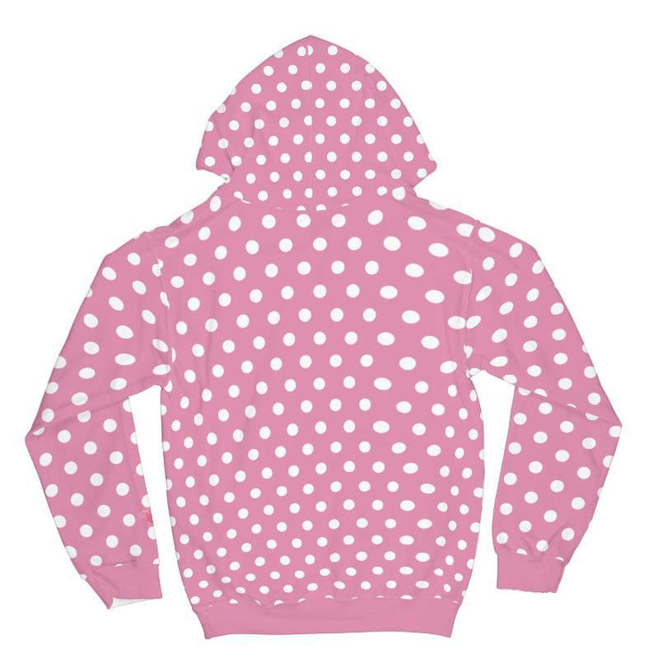 Hedgehog Spots Valentines All Over Print Hoodie - Get Set Style Metro