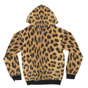 Leopard Brown Snow All Over Print Hoodie - Get Set Style Metro