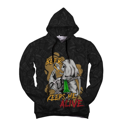 Beer Keeps Me Alive AOP Pop Top Hoodie - Get Set Style Metro