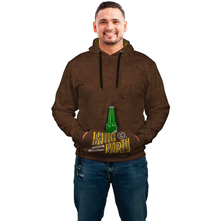 King Of The Party AOP Pop Top Hoodie - Get Set Style Metro