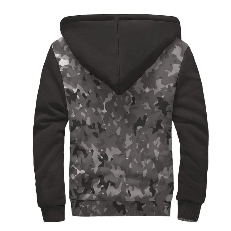 Personalized Camouflage AOP Sherpa Hoodie With Your Name Inside Print - Get Set Style Metro