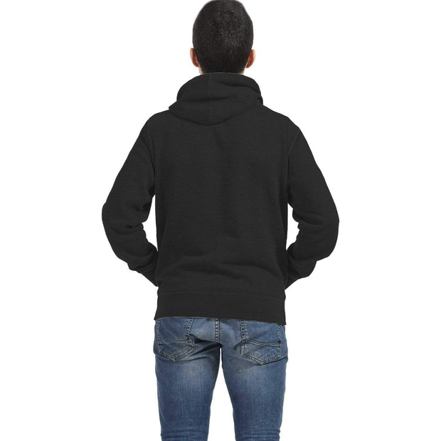 Personalized Black AOP Zip Hoodie with Sea Turtle Inside Print - Get Set Style Metro