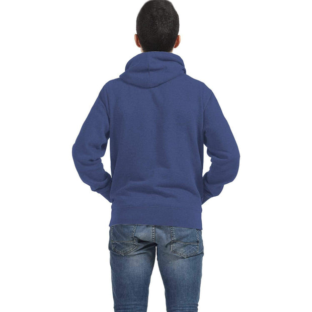 Personalized Blue AOP Zip Hoodie with Owl Inside Print - Get Set Style Metro